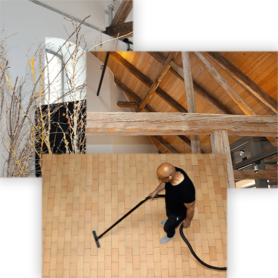 effektive service og rene rammer
